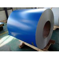 China PE PVDF Paint Aluminium Colour Coated Coils , Color Coated Coil Thickness 0.20-3.00mm on sale