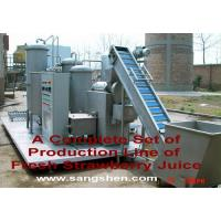 Buy cheap Strawberry Juice Production Line from wholesalers