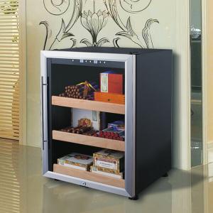 138L Mini Electrical Cigar Humidor Cabinet Wooden Cigar Humidor Box Top Sale Cigar Case Manufactures