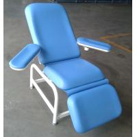 Blue Hospital Furniture Chairs / Couch Manual Support 190mm Forward Manufactures