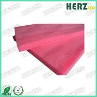 China EPE Material Pink Anti Static Foam , Pink ESD Foam Density 20kg/M3 For Thermal Insulating on sale