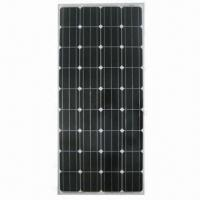 Mono-crystalline Silicone Solar Panel Module with +/-3% Output Tolerance and 140W Maximum Power Manufactures