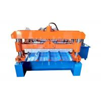13 Step Sheet Metal Roll Forming Machines Material Thickness 0.3-0.8mm Coil Width 1000mm Manufactures