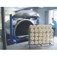 Constant Speed Vacuum Steaming Textile Spinning Machinery For Nylon Yarn Manufactures