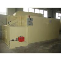 China Gas-Fired Powder Coating Oven , Box Type Furnace Oven Chamber Of Galvanized Steel on sale