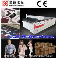 Contour Cutting Printing Fabric,VisionCUT Lasers Manufactures
