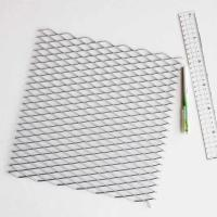 Wide Optional Colour Expanded Metal Mesh Ceiling Good For Protecting Environment Manufactures