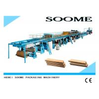 Different Ply Corrugated Cardboard Production Line Customized Rotary Cutting Type Manufactures