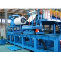 Sound Isolation PU Sandwich Panel Line / Polyurethane Sandwich Panel Machine Manufactures