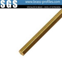 Factory Made Hot Wholesale Cheap High Precision Brass Extrusion Hex Rods Manufactures
