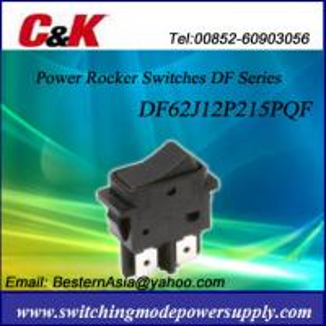 C&K DF62J12P215PQF Rocker Switches(1000 Series) Manufactures