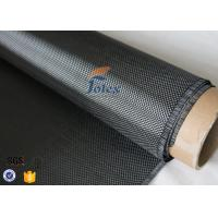 3K 280g 0.34mm Plain Weave Silver Carbon Fiber Fabric For Structure Reinforcement Manufactures