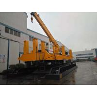 No Noise Hydraulic Piling Rig Machine Customized Color One Year Warranty Manufactures