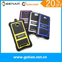Colorful HTC 3D Phone Cases Anti Scratch For Business Gift Manufactures