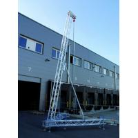 6.2 M High 300*300 Mm Screw Truss For Arrary Stand And Speaker Truss Manufactures