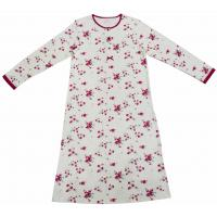 China Super Soft Cotton Long Sleeve Sleep Dress , Fashion Women'S Gowns Sleepwear on sale