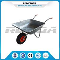 Industrail Heavy Duty Wheelbarrow 7 CUB , Garden Wheel Cart Galvanized Color Manufactures