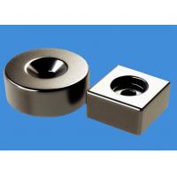 Customized Ring Magnets Block Magnets 20 mm Countersunk Hole Magnets Manufactures
