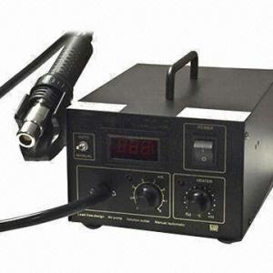Digital SMD Hot Air Gun Rework Soldering Station, CE Certified Manufactures