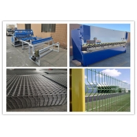 China Bending Fence CNC Automatic Welded Wire Mesh Welding Machine on sale