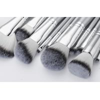 China Sliver Color Professional Makeup Brush Set / synthetic hair Cosmetic Brush Set on sale