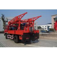 Quality Truck Mounted Hydraulic Portable Drilling Rigs For Water Well for sale