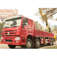 Quality SINOTRUK HOWO Truck Mounted Crane / Truck Mounted Jib Crane For Construction for sale
