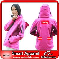 Ski Jacket With Automatic Battery Heating System Electric Heating Clothing Warm OUBOHK Manufactures