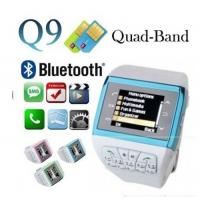 "Q9 Watch Mobile Phone,Wrist Mobile Phone,Dual SIM Watch Phone with 1.33""Touch LCD,2.0MP Pi Manufactures"