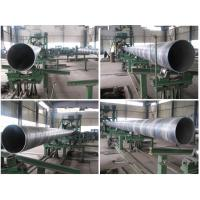API5L GR.B Spiral Electronic Resistance Welded Steel Pipe SCH 10 / SCH 5 Manufactures