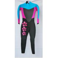 China Pink  Women Neoprene Diving Suit with Mesh on Chest and back wholesale
