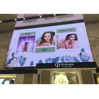 Quality Semi Outdoor Commercial Advertising LED Display Screen IP54 Golden Line Lamp Type for sale