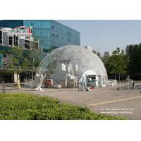 Buy cheap Transparent PVC Cover Geodesic Dome Tents For Wedding / Party 100 - 10000 People from wholesalers