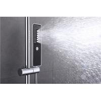 Automatic Thermostat Valve Rain Head Shower Kit , Hand Spray Concealed Thermostatic Mixer Shower Manufactures