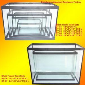 Black Frame Aquarium Fish Tank/Narrow Fish Tank Manufactures