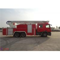 Multi Functional Rescue Fire Truck 39 Ton Maximum Speed 104KM/H ISO9001 Certificated Manufactures