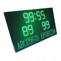 LED Football Scoreboard Display with Wireless Controller and 220V/110V AC power Manufactures