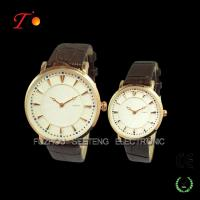 2015 Fashion watch for lovers,round glass,Alloy case.stainless steel backcase Manufactures