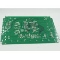 Fiducial Mark Added Double Sided PCB Gold Surface Plating PTH / NPTH Vias Manufactures