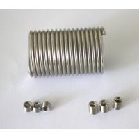 Quality stainless steel free running steel coil inserts for PVC foam plate for sale