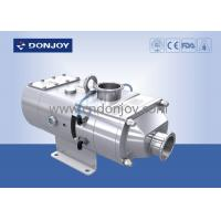 China 316L Sanitary Screw High Pressure Pumps Electric Operated Apply For CIP / SIP Systems on sale