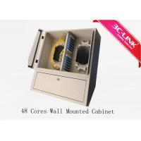 Low Loss 48 Cores Wall Mount Fiber Distribution Cabinet Adaptation Many Applications Manufactures