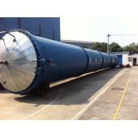 High Temperature Wood Glass Autoclave Door For Glass Industrial , Φ2.8m Manufactures