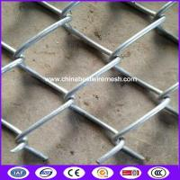 Zinc aluminum alloy chain link fence with accessories for airport Manufactures