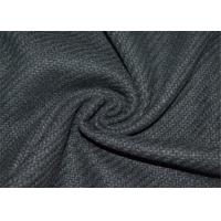 Woven Technics Tweed Wool Fabric 10% Wool For Autumn / Winter OEM Accepted Manufactures
