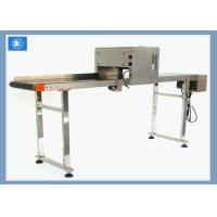 Buy cheap Continuous Egg Digital Batch Coding MachineWith 600 DPI Vertical Resolution from wholesalers