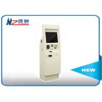 China Automatic library kiosk with thermal printer card , self service computer kiosk on sale