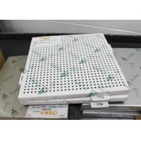 Reducing Noise Aluminum Wall Panels / Sound Absorption Building Decoration Material Manufactures