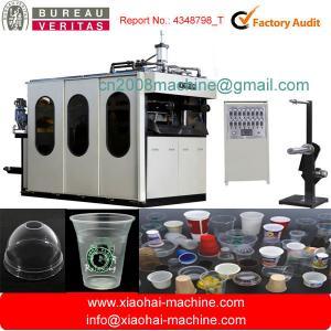 China Plastic cup making machine on sale