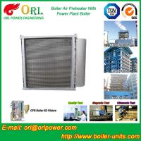 Hot Water CFB Boiler APH , Combustion Air Preheater In Steam Power Plant Manufactures